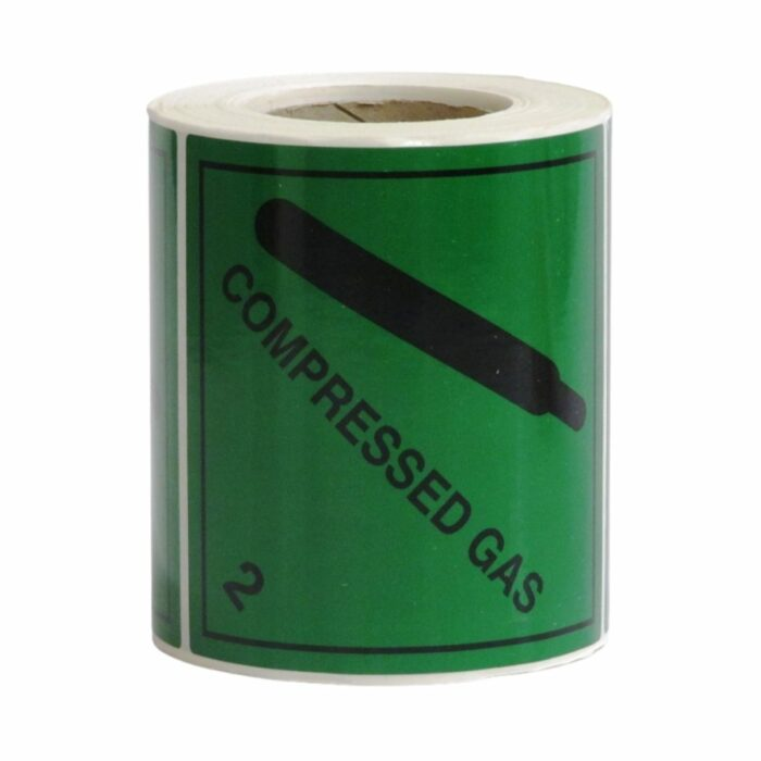 HD8210 UN Diamonds S_A on Roll 100 x 100mm 250 Labels Class 2 Compressed Gas