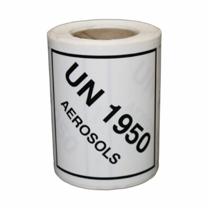 HD8912 UN Diamonds Self Adhesive on Roll 100 x 100mm 250 Labels Aerosol
