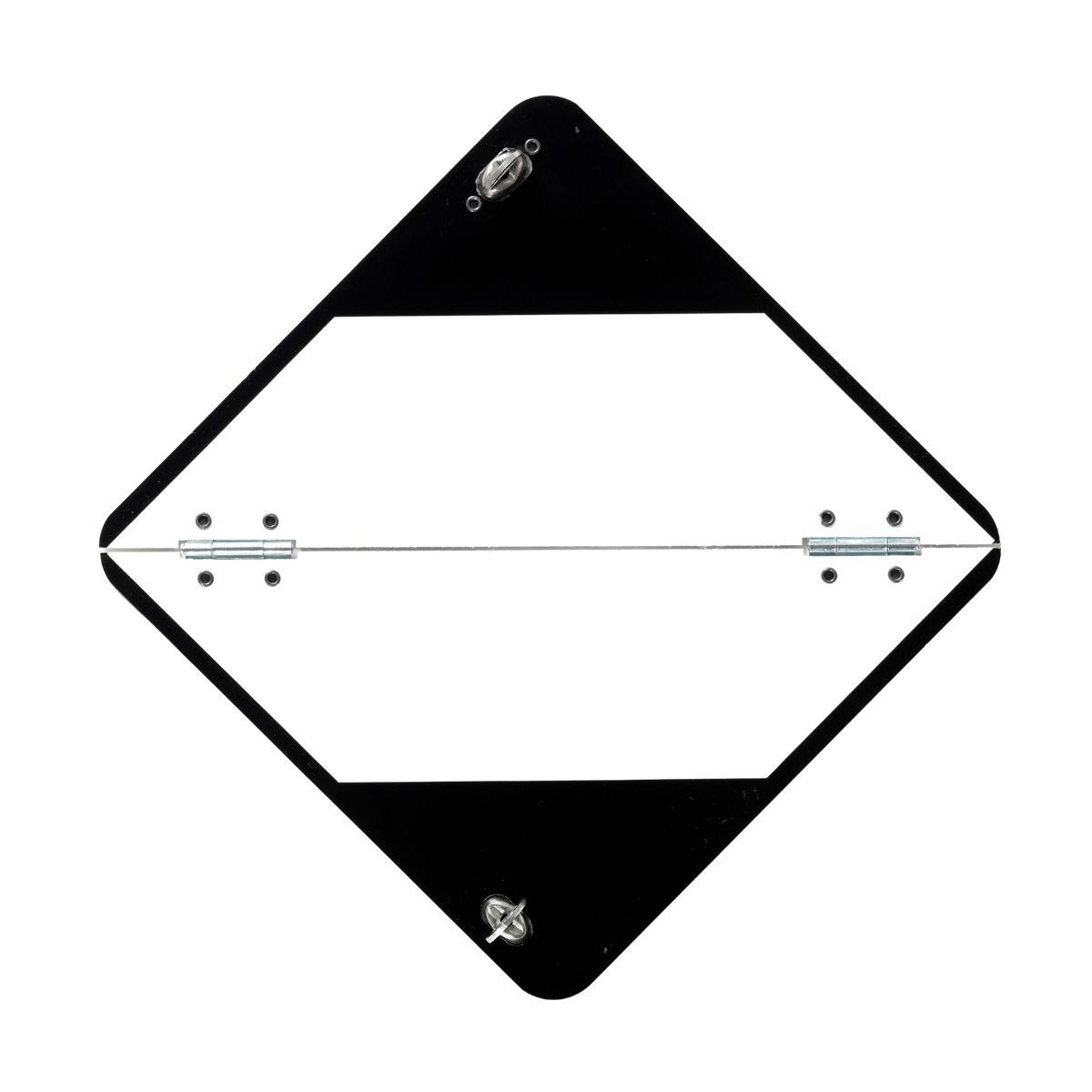 VS0550 Limited Quantity Folding Aluminium Diamond 250 x 250mm