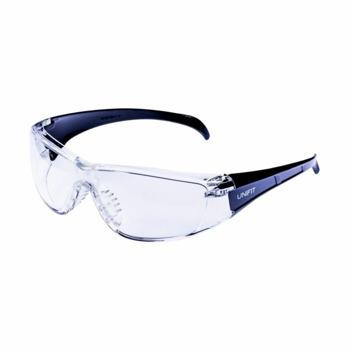 EW1301 Como Clear Anti-Scratch Safety Glasses