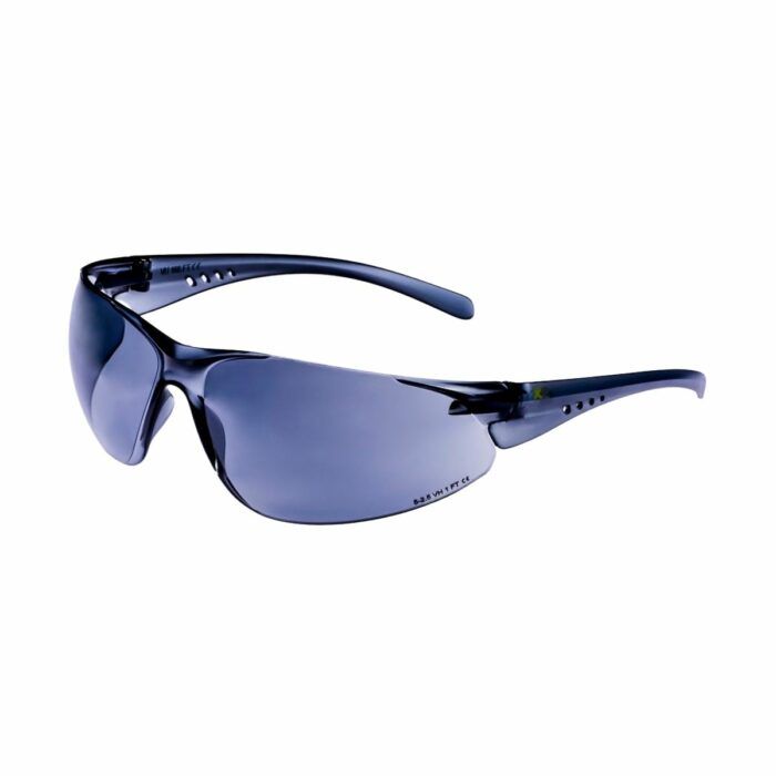 EW4133 Xcel Grey Tinted Anti-Scratch Safety Glasses