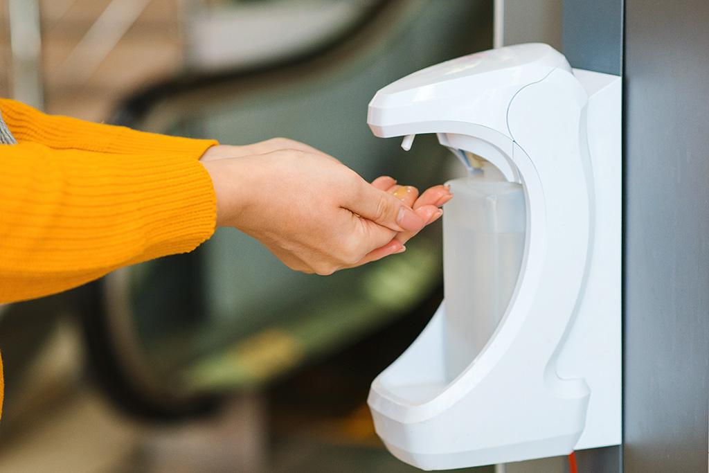 Hand Sanitiser in blog