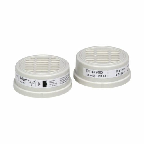 RP3320 Drager P3 Particulate Filters (Pack of 2)