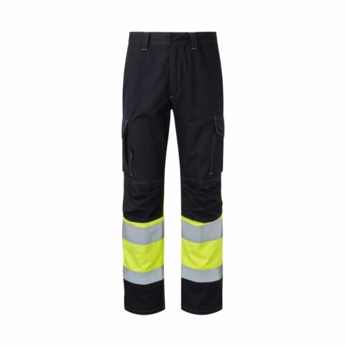 AS0065 HAZTEC® Kilmar FR AS HV Two Tone Trouser - Front