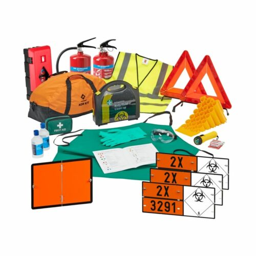 DK0041 Class 6.2 Infectious Substance_Medical Waste ADR Complete Kit Up To 7.5Ton
