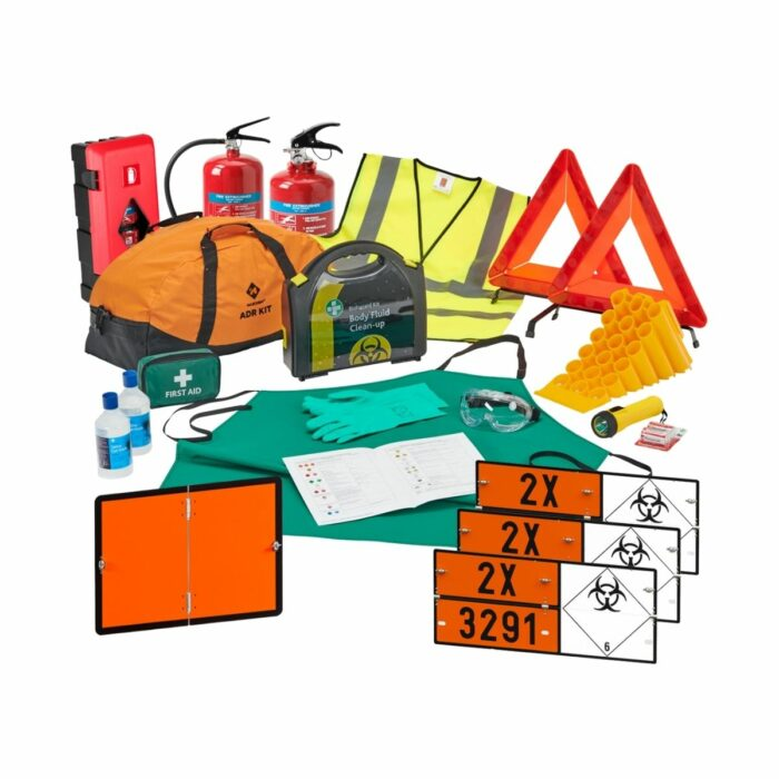 DK0042 Class 6.2 Infectious Substance_Medical Waste ADR Complete Kit for HGVs