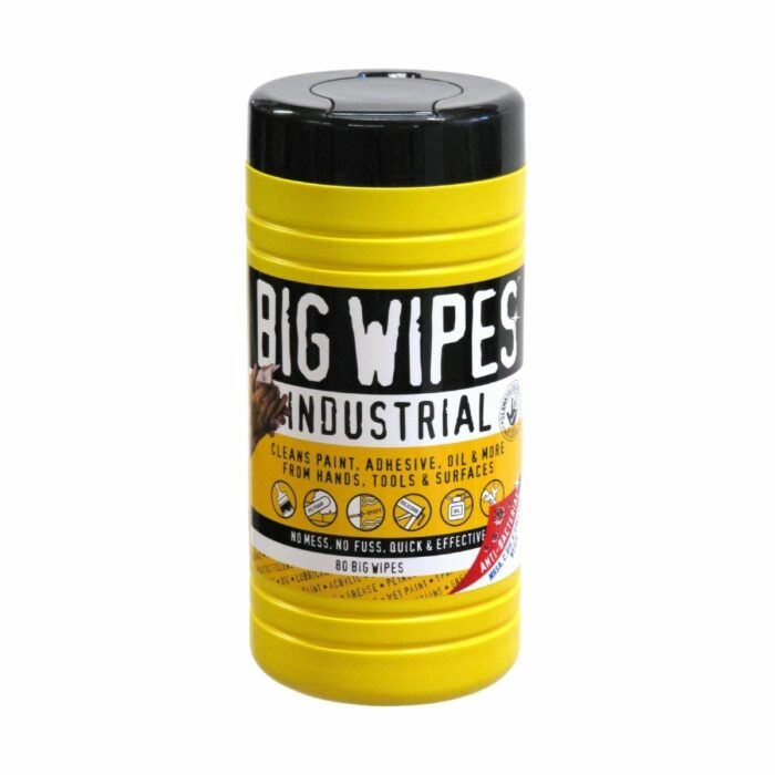 JP2010 Heavy Duty Industrial Big Wipes Pack of 80