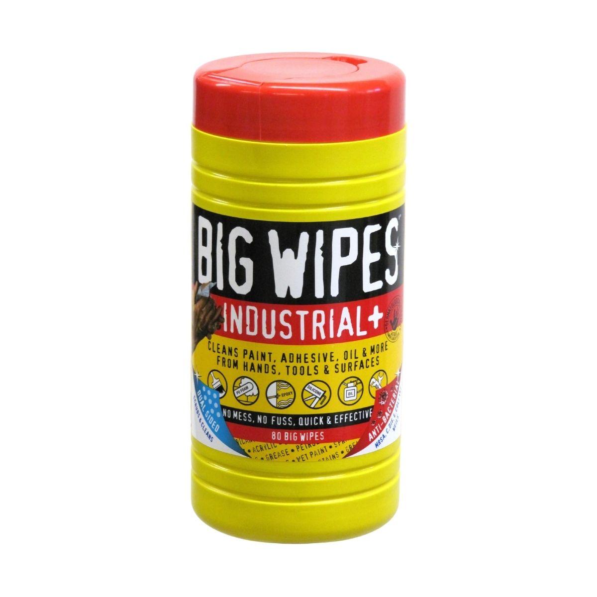 JP2020 Industrial+ Big Wipes Pack of 80