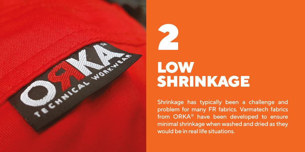 Low-Shrinkage