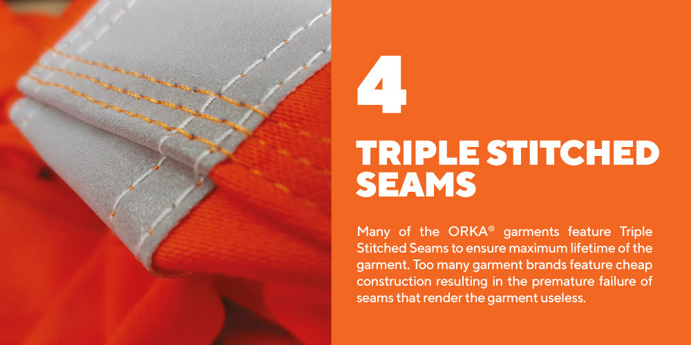 Triple-Stitch-Seams