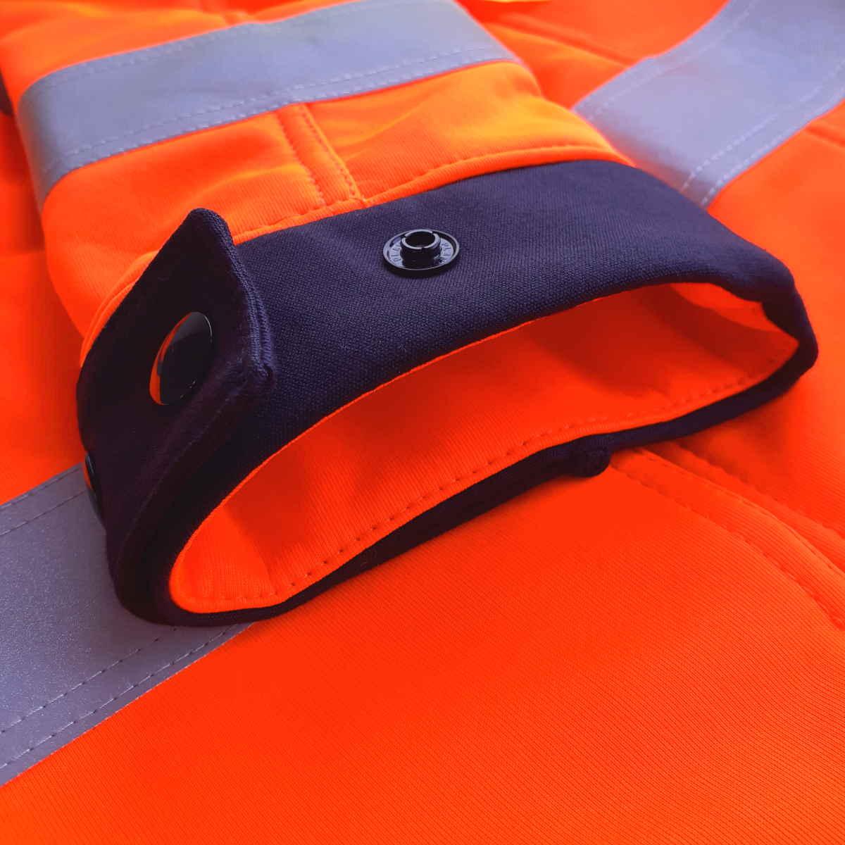 AS0059 HAZTEC® Cossack FR AS Hi-Vis Softshell Jacket_Adjustable Cuff