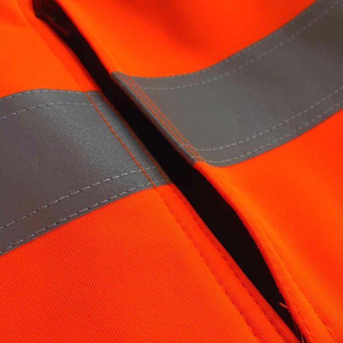 AS0059 HAZTEC® Cossack FR AS Hi-Vis Softshell Jacket_Side Pocket