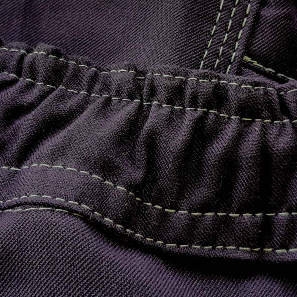 AS0065 HAZTEC® Kilmar FR AS HV Two Tone Trouser_Elastic Waist Feature