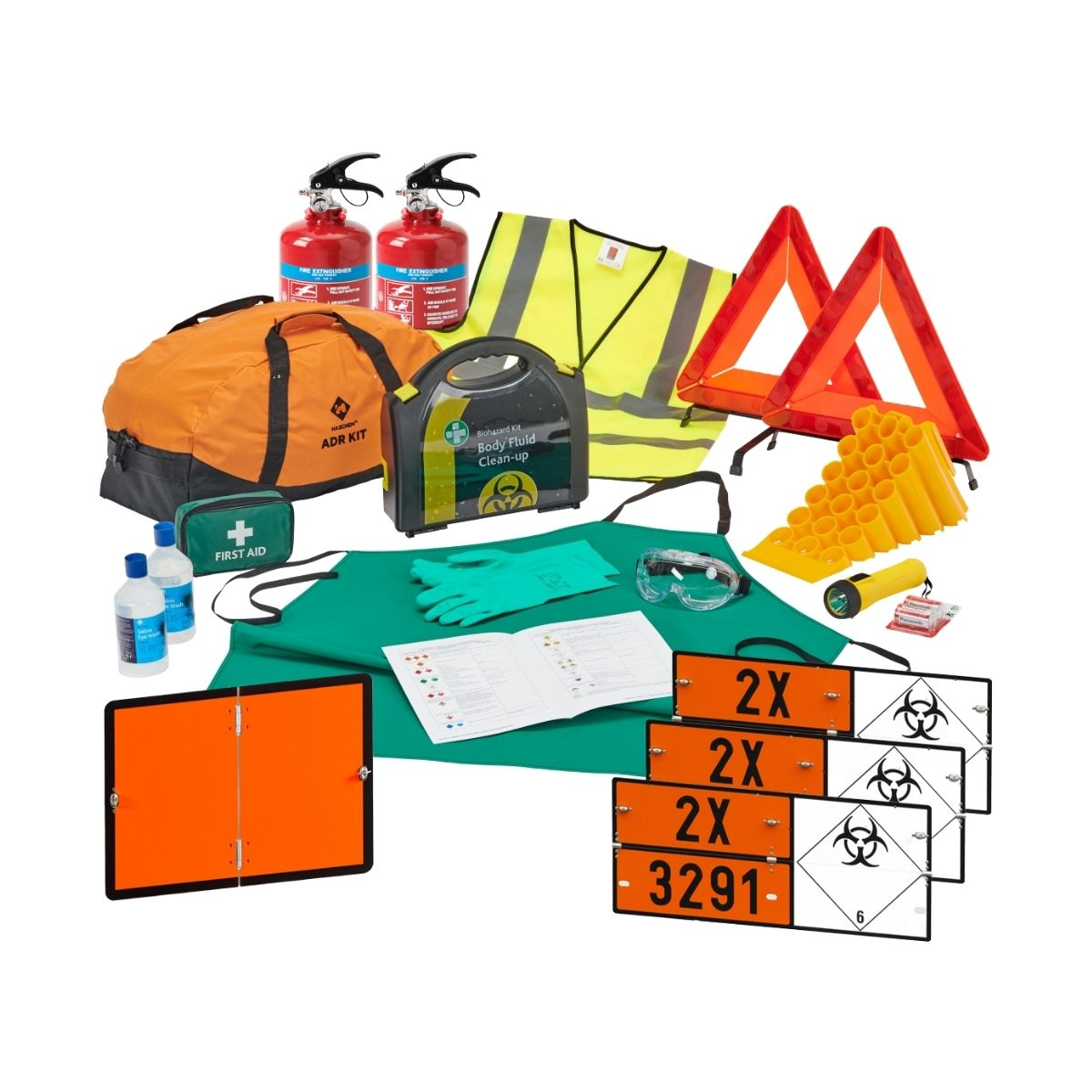 DK0039 Class 6.2 Infectious Substance_Medical Waste ADR Complete Kit Up To 3.5 Ton