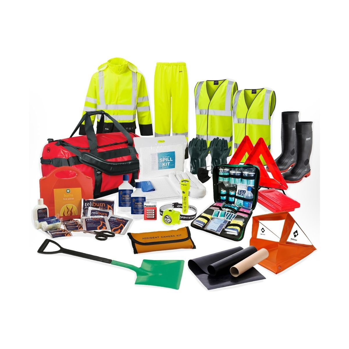 DK0036 Petrochemical Emergency Response Kit
