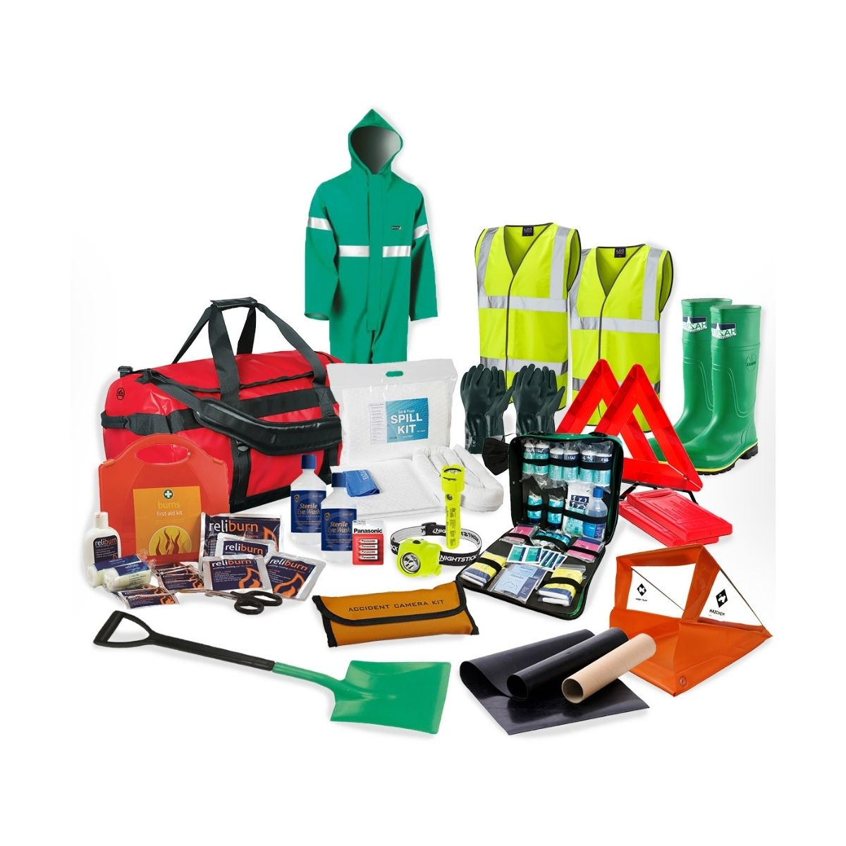DK0037 Chemical Emergency Response Kit