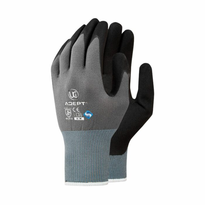 GL3125 NFT® Palm Coated PU Gloves, Shell Grey