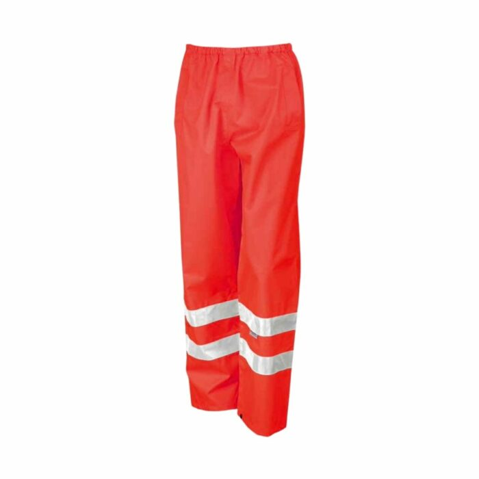 HV0052 Hi Viz Mircoflex Waterproof Over Trousers