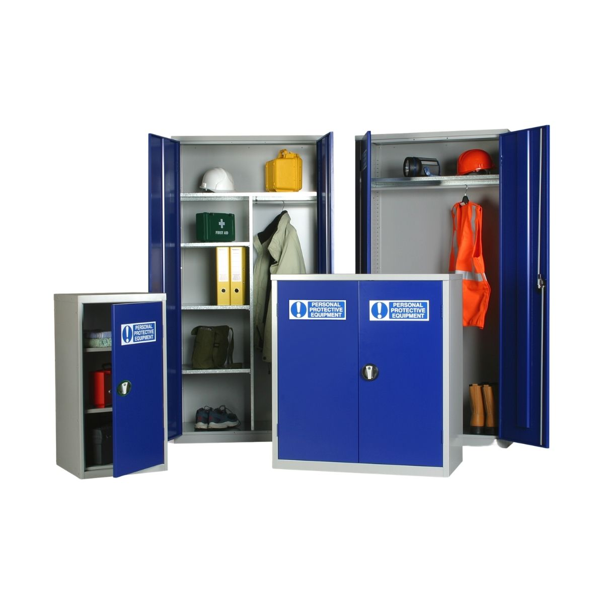 JP0036 PPE Cabinets 1830 x 915 x 457 Clothing & Equipment