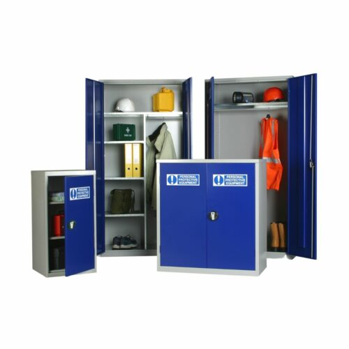 JP0039 PPE Cabinet 1000 x 915 x 457 Small Double Cabinet