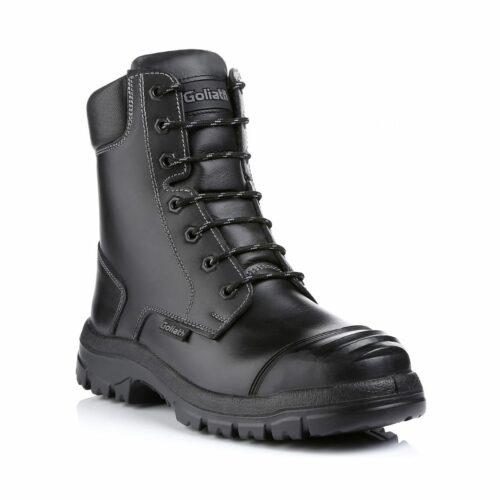 SF0072 Goliath DDR Rubber Petrochem High Leg Zip Boot