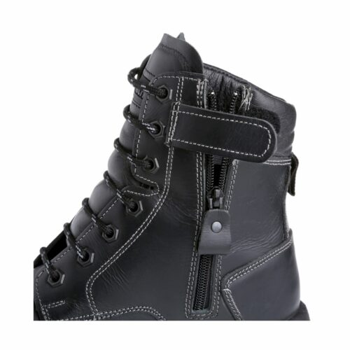 SF0072 Goliath DDR Rubber Petrochem High Leg Zip Boot - Side