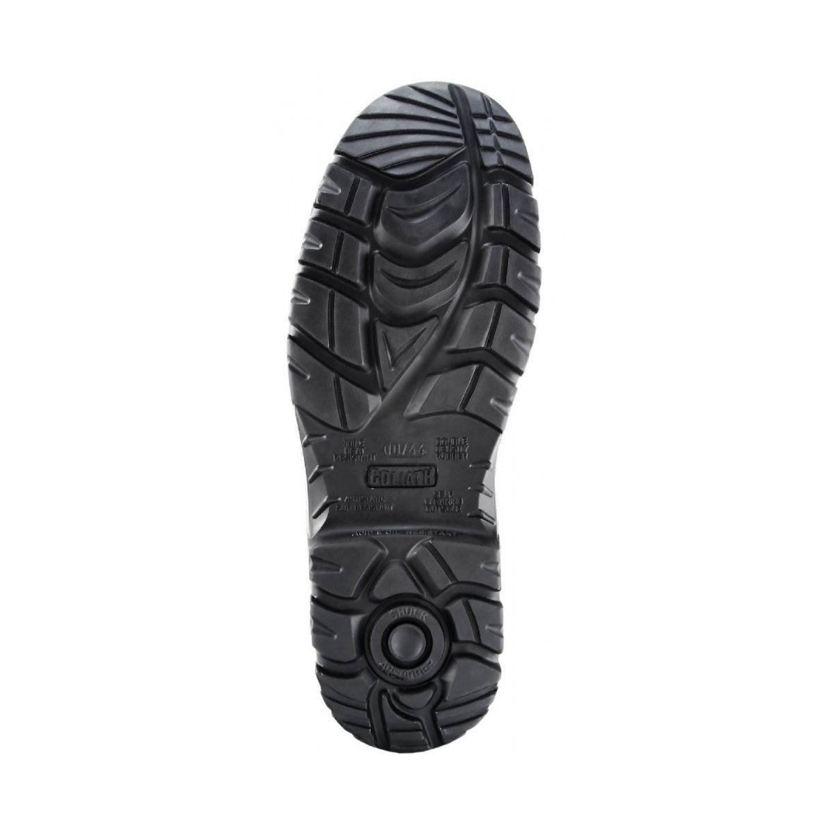 SF0072 Goliath DDR Rubber Petrochem High Leg Zip Boot - Sole