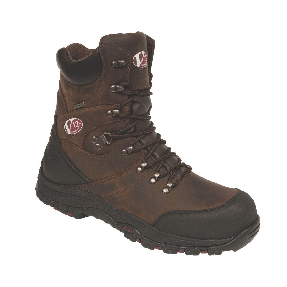 SF6255 V12 Rocky Zip Sided Waterproof Hiker Boot
