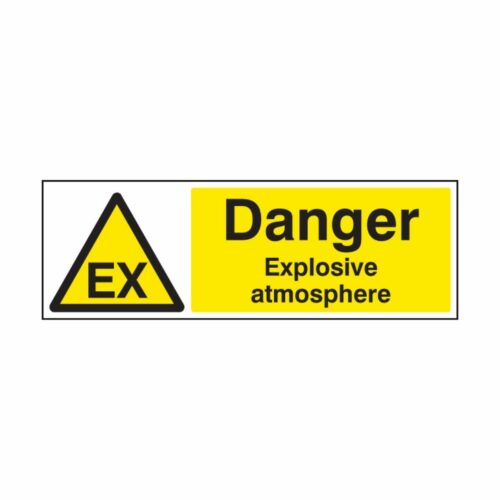 SS14479K Danger Explosive Atmosphere (400 x 300mm)