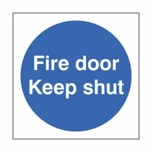 SS21610B Fire Door Keep Shut (80 x 80mm)