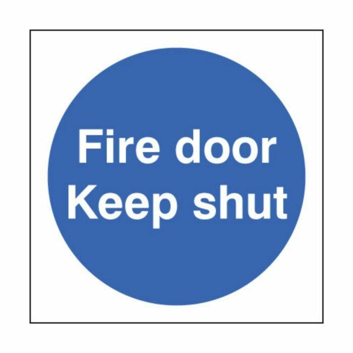 SS21610B Fire Door Keep Shut (80 x 80mm)