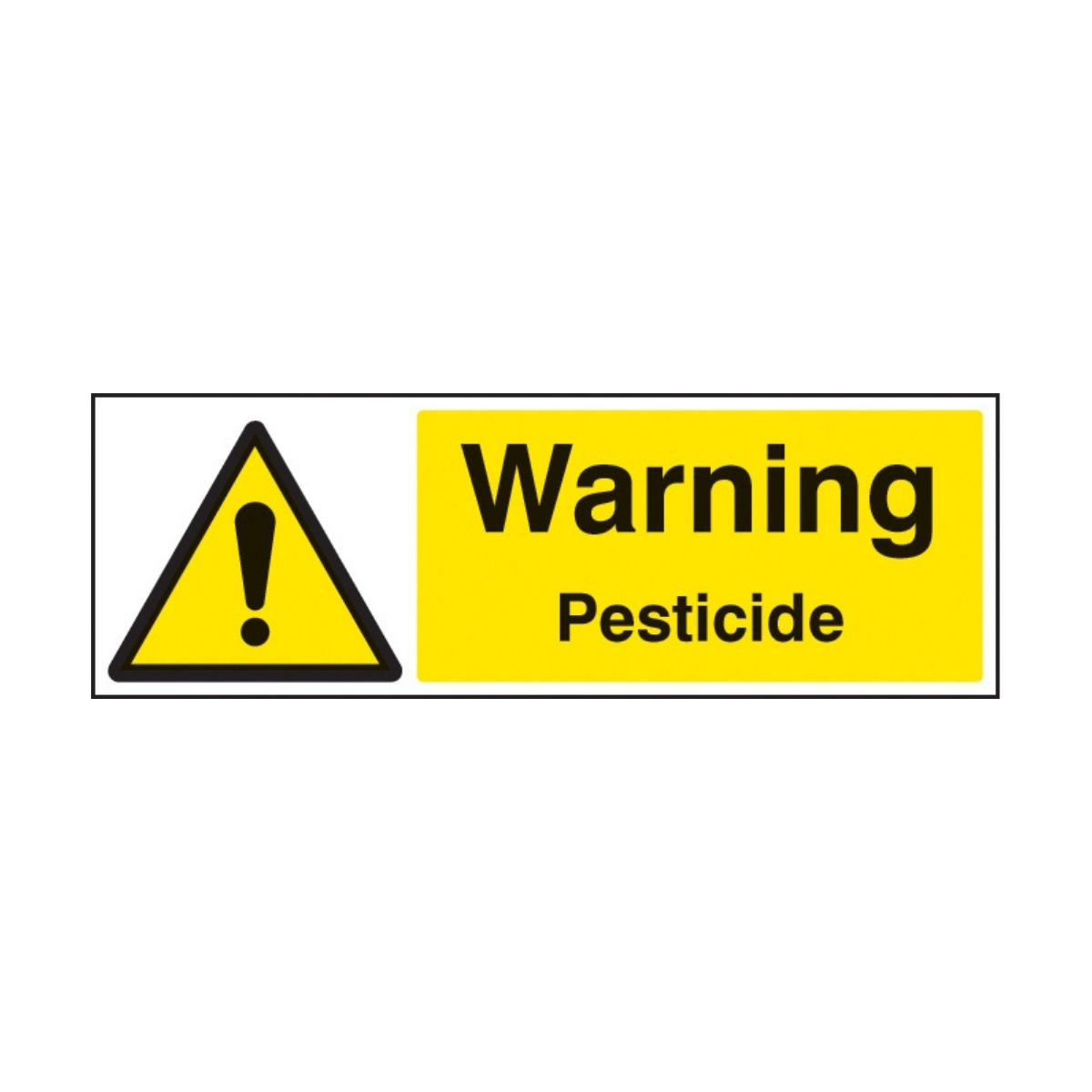 SS24457G Warning Pesticide (300 x 100mm)