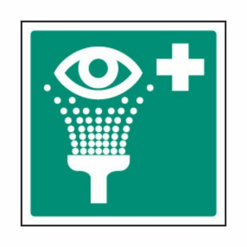 SS26026F Emergency Eyewash Symbol (200 x 200mm)