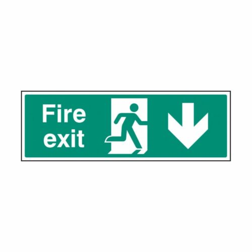 SS32008G Fire Exit - Down (300 x 100m)