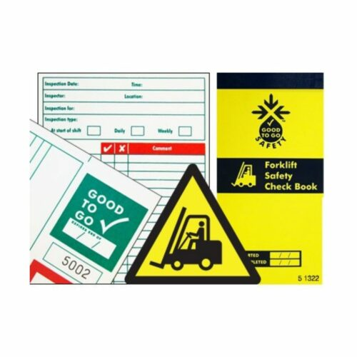 SS51302 Good To Go Safety Forklift Check Book