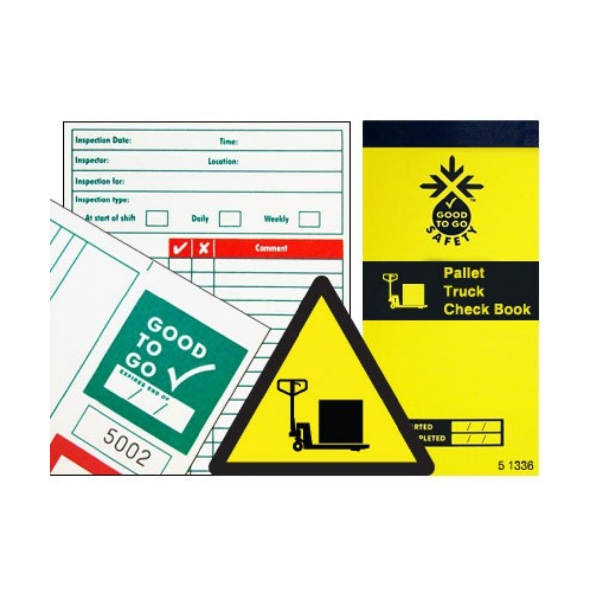 SS51336 Good To Go Safety Pallet Truck Check Book