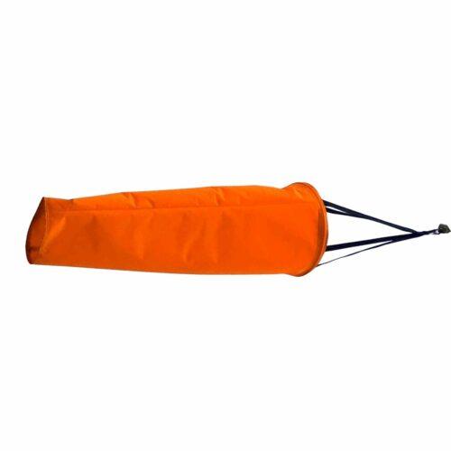 WP5800 3' Fluorescent Orange Industrial Windsock