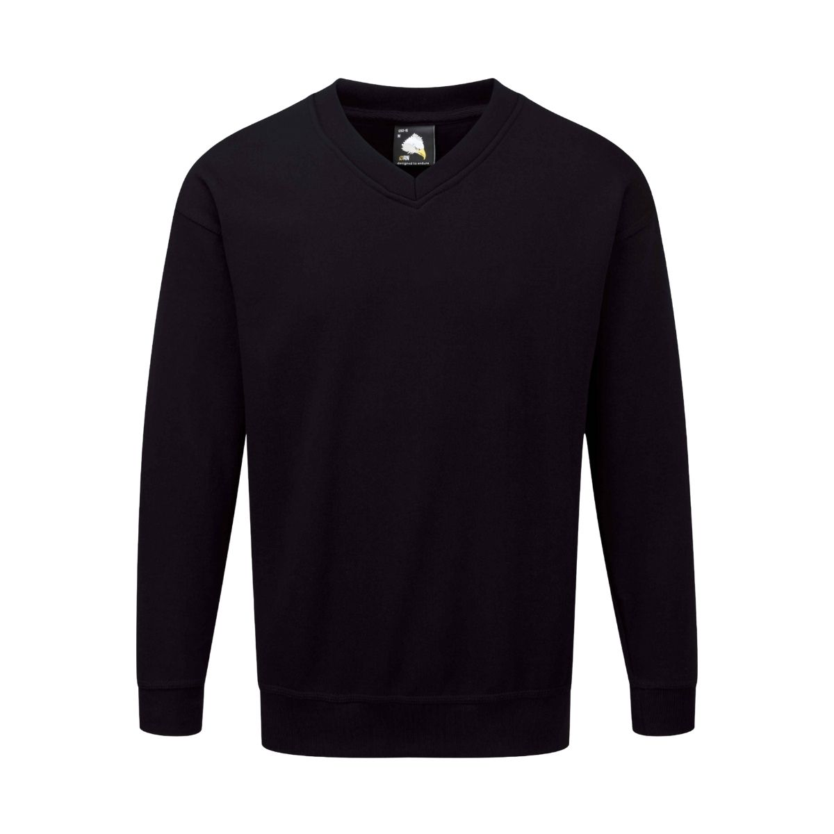 WW1261 100% Cotton V Neck Sweatshirt