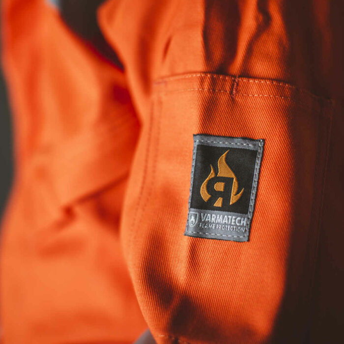AS8999 ORKA Magnus II FR AS Offshore Coverall - Arm Icons