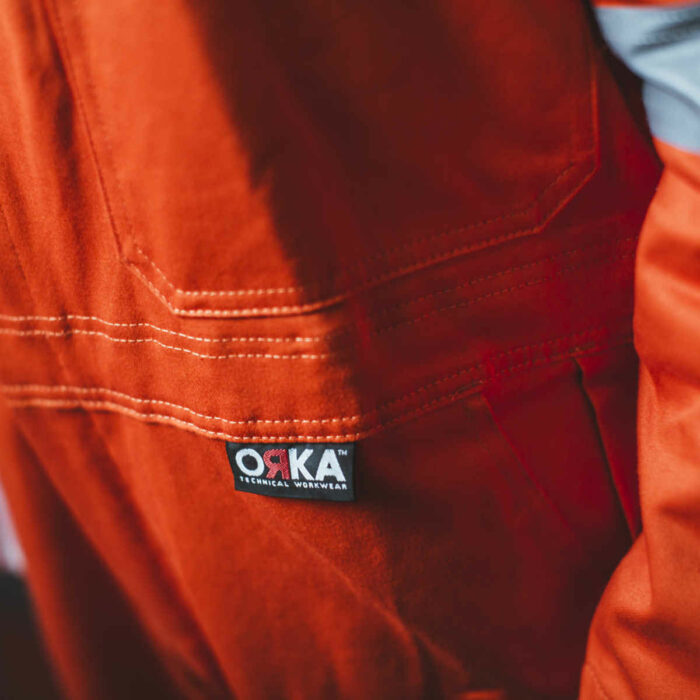 AS8999 ORKA Magnus II FR AS Offshore Coverall - ORKA Logo