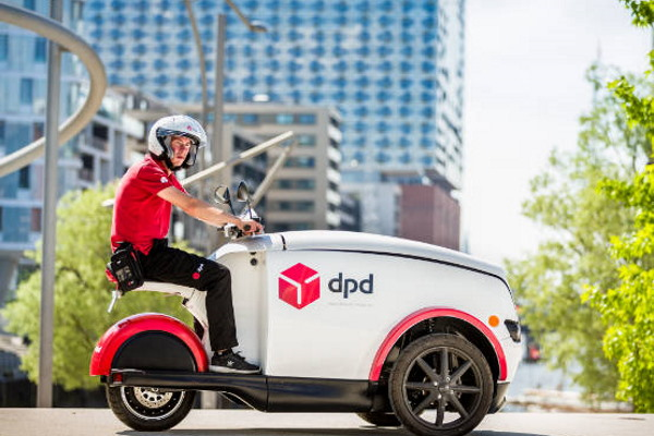 DPD Delivery Vehicle