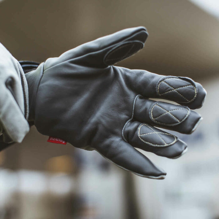 GL1828 Thermal Leather Water Resistant Gloves 2
