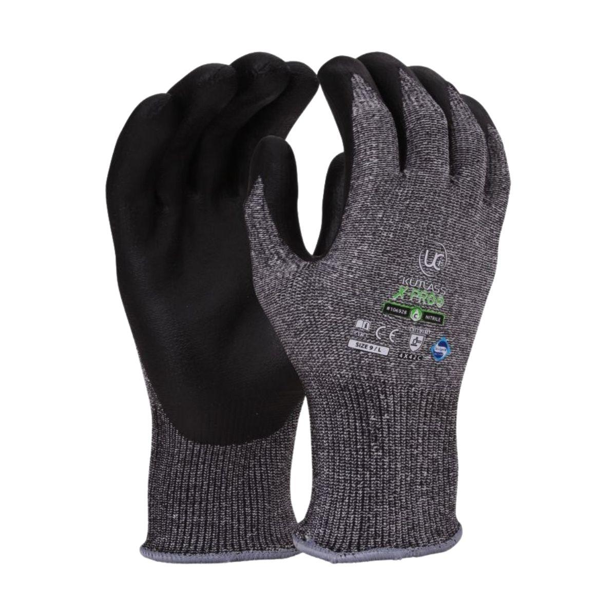 GL3142 Kutlass Cut Level 5 Nitrile Coated Gloves