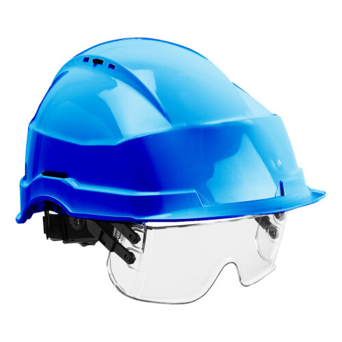 HF0510_Iris II Safety Helmet and Visor_Blue