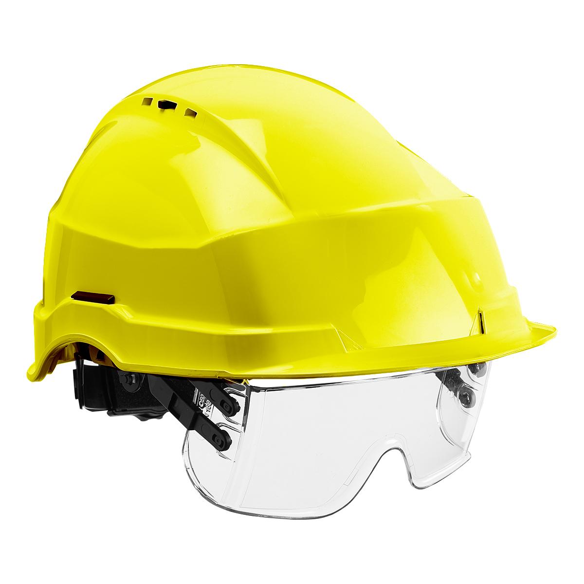 HF0510_Iris II Safety Helmet and Visor_Yellow