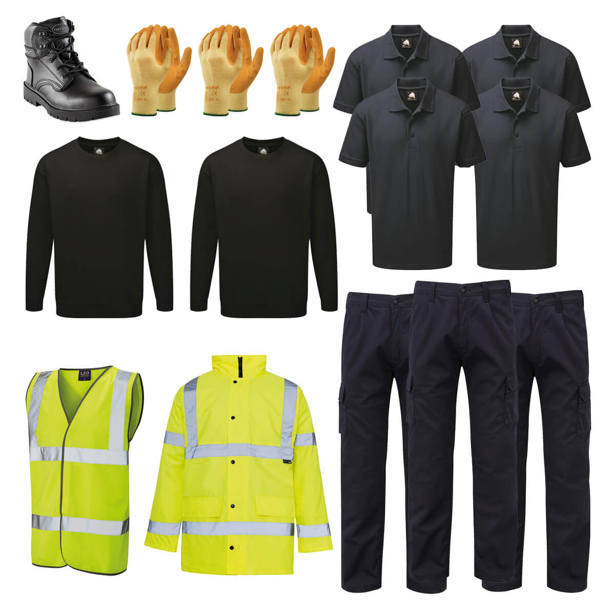 Truck Driver PPE Kit