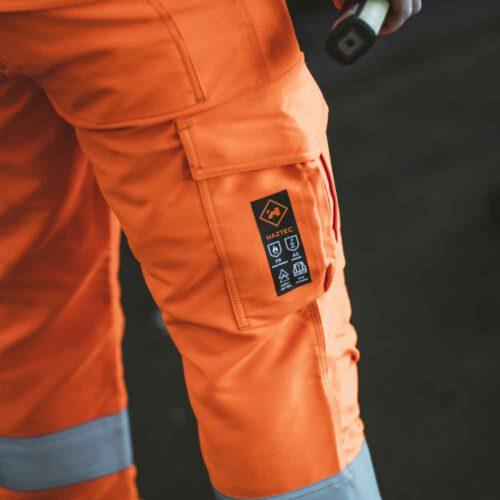 AS1001_HAZTEC® Minerva FR AS ARC Hi-Vis Rail Specification Trouser_Action