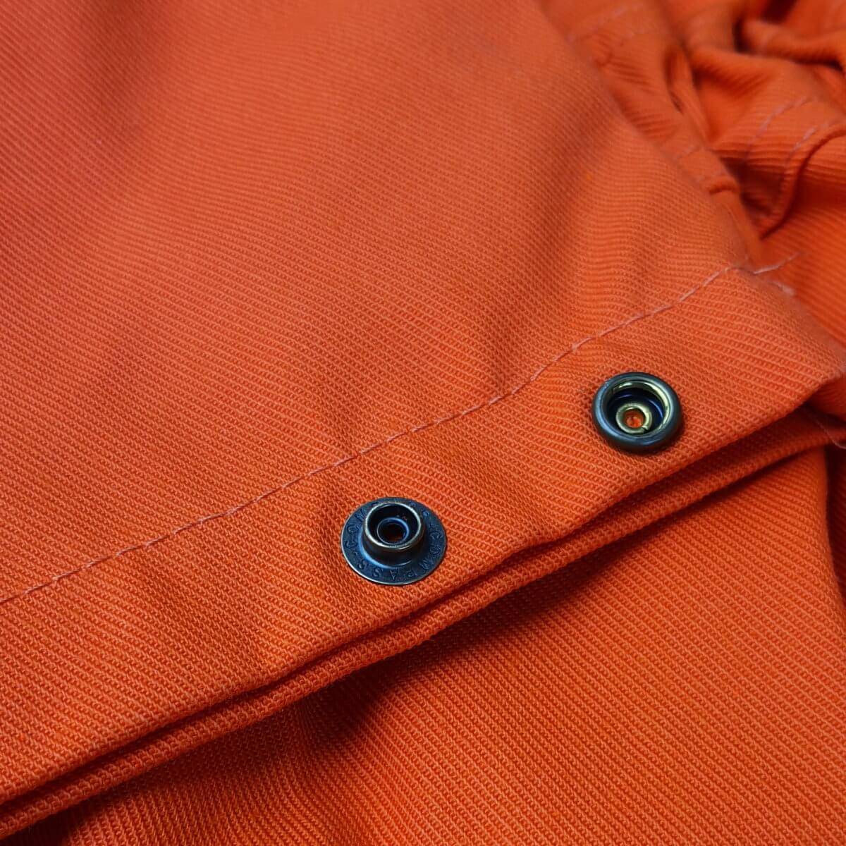 FR7344_ORKA Zip Fabricator FR Coverall_Sleeve Poppers