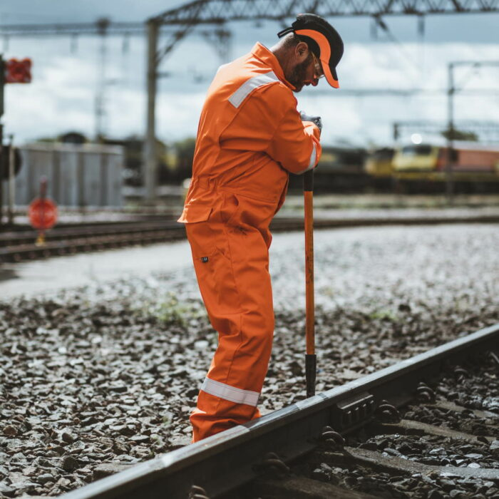 FR7344_ORKA Zip Fabricator FR Coverall_Trackside