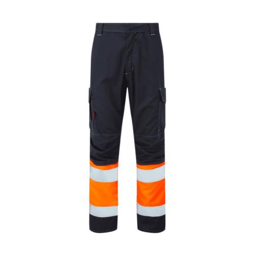 AS0065_HAZTEC® Kilmar FR AS ARC Hi-Vis Combat Trouser, HV Orange_Front